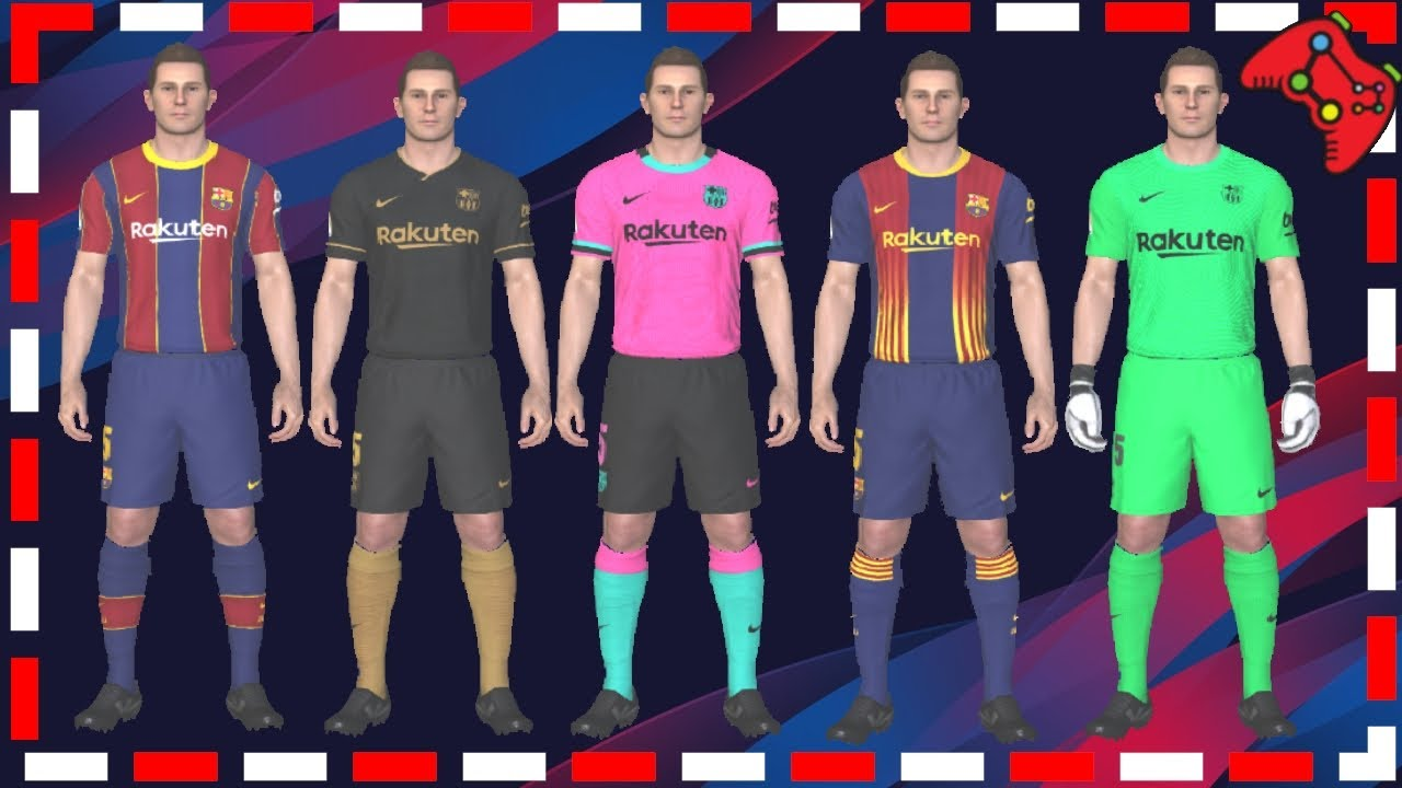 Pes 2017 Fc Barcelona Official Leaked Kits 2021 By Aykovic10 Youtube
