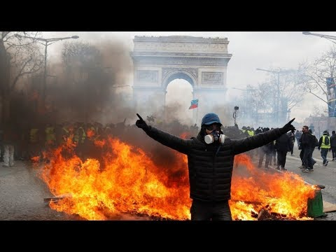 Yellow Vests protest in Paris, Act 18 (Part 2)