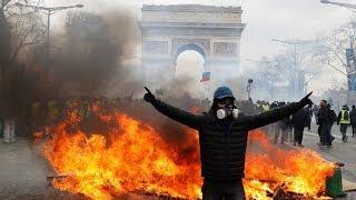 Yellow Vests protest in Paris, Act 18 (Part 2)