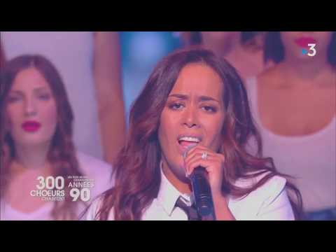 Amel Bent: «Ziggy» (version Céline Dion) émission «300 Choeurs chantent les années 90» (18/05/2018)