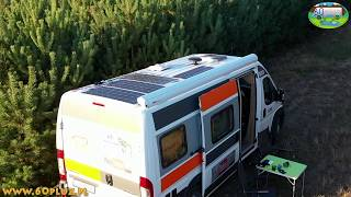 Energia słoneczna i nie tylko w naszym kamperze - Kamperowa przygoda