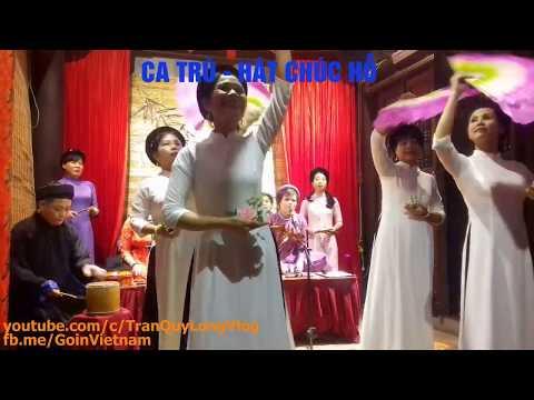 Ca trù singing at Bích Câu đạo quán | Tally card songs | Hát Chúc Hỗ