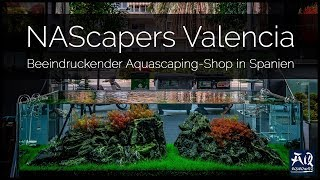 NASCAPERS IN VALENCIA | Beeindruckender Aquascaping-Shop in Spanien | AquaOwner VLOG