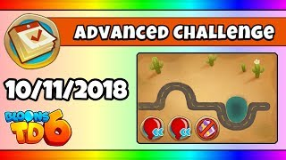 BTD6 Advanced Daily Challenge (ISOLATED, AND RICH) - October 11, 2018