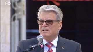Getting Acquainted - German President Joachim Gauck in Israel | People & Politics