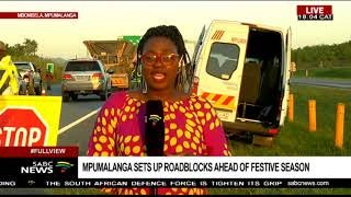 Police and Traffic officers in Mpumalanga ready for festive season