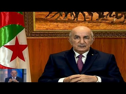 Algeria's president dissolves parliament, calls for early elections