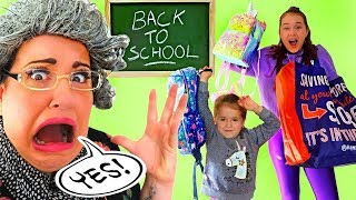 GRANNY CAN'T SAY NO!!! Kids Buy Any School Supplies For 24 Hours