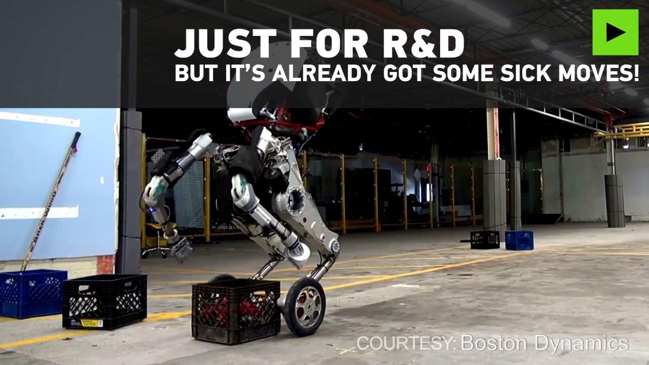 Hello Handle: Boston Dynamics unveils latest robot creation