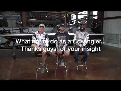 How To Be A Co-angler - FLW Pros Anthony Gagliardi, John Hunter And Brian Latimer