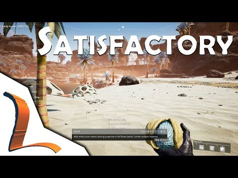 The beginning! Getting to Hub level 5 - Satisfactory Early Access Gameplay Ep 1