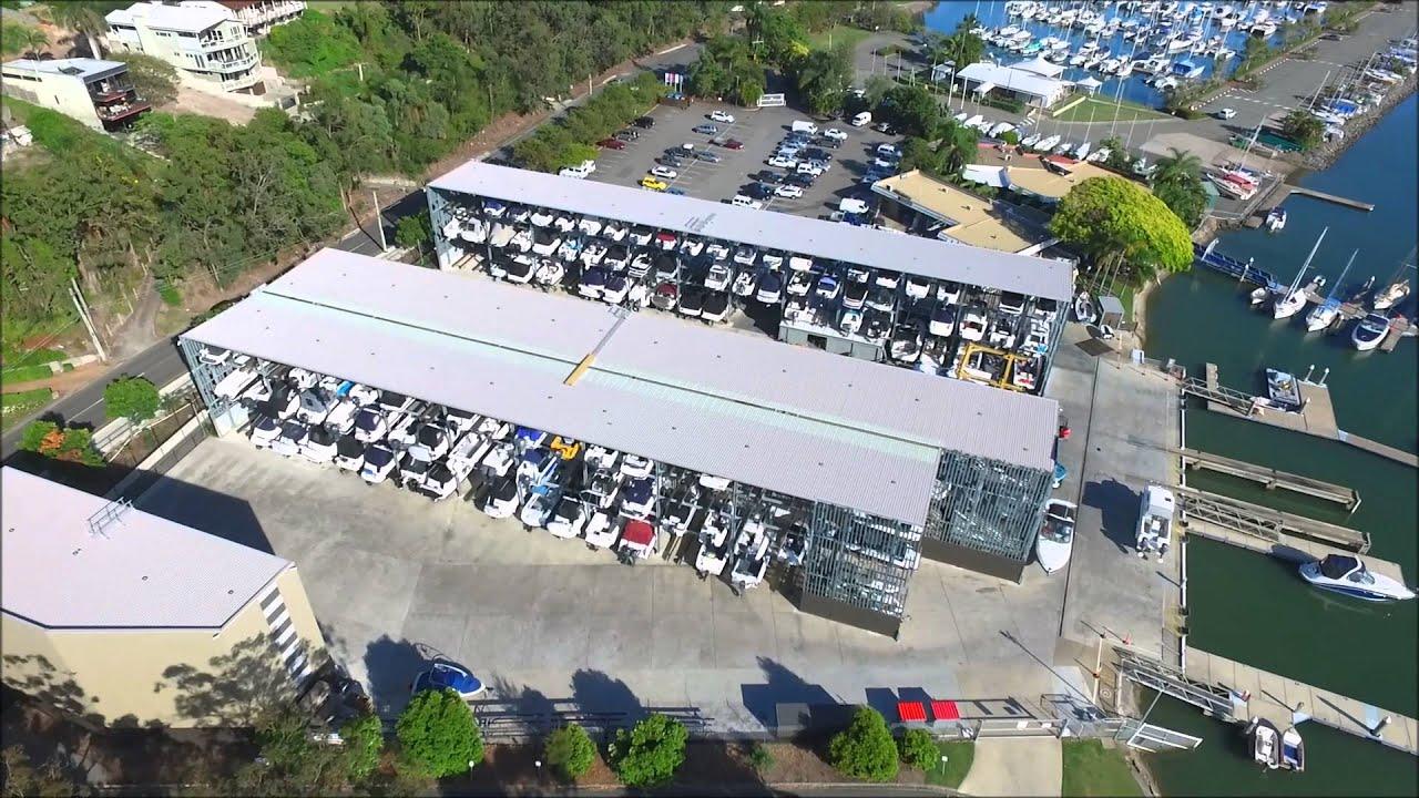 East Coast Marina And Dry Rack Boat Storage Flyover Youtube