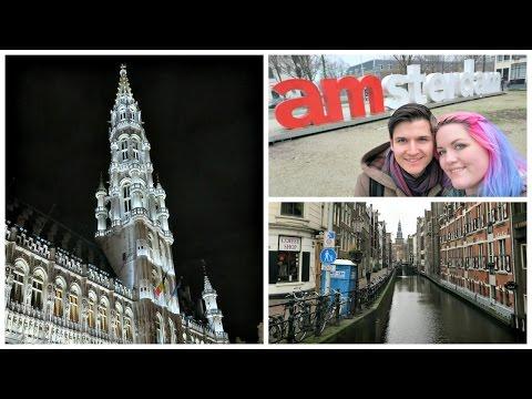 Amsterdam & Brussels Vlog! ¦ The Corner of Craft