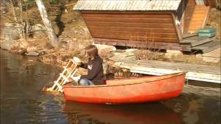 Creativeobsin Nr.15 : Wooden Outboard - Boat Test