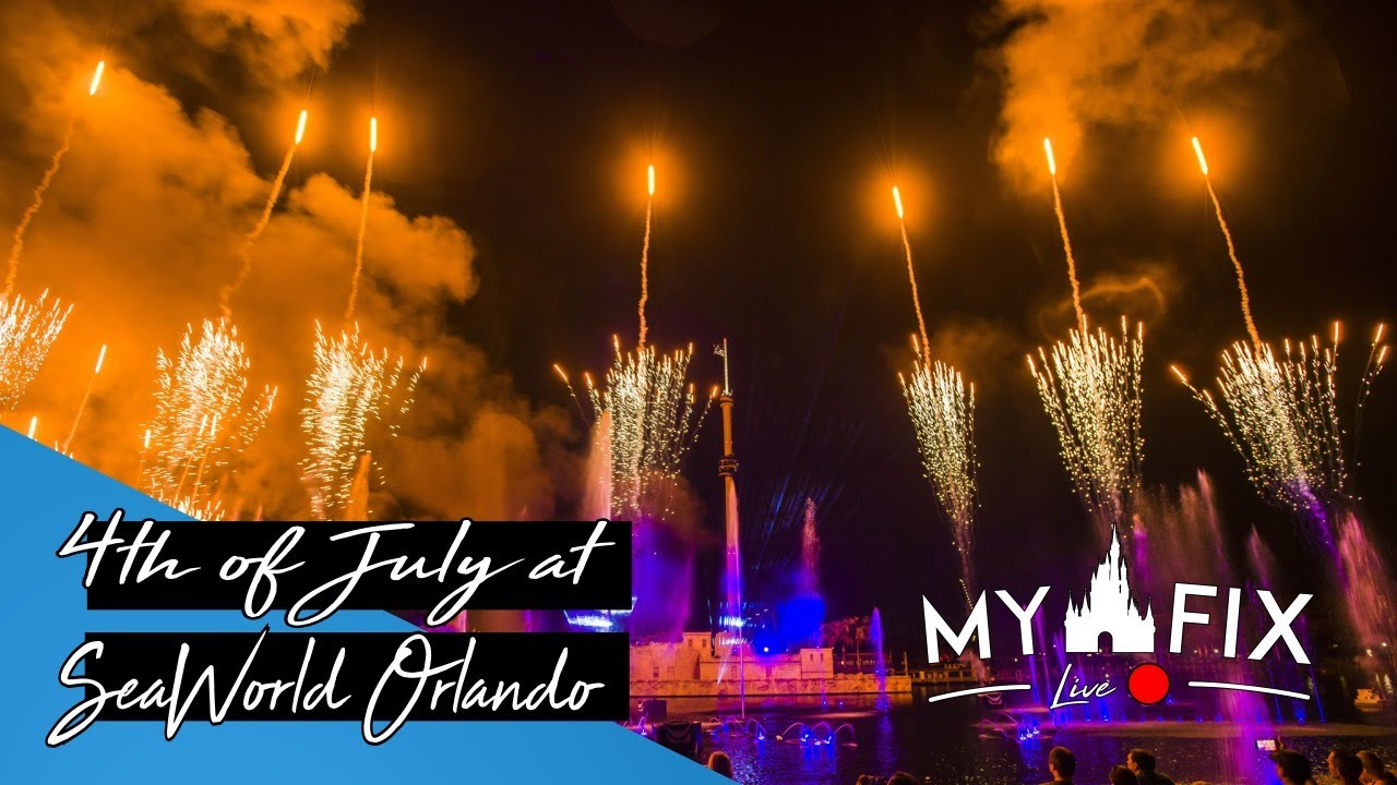 [MDWF LIVE!! 🔴] 4th of July at SeaWorld Orlando 7-4-2020