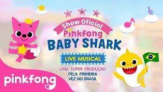 Pinkfong e Baby Shark em Brasil | Cancão Infantil | Pinkfong Canções para crianças