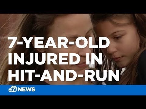 Shay Diddy - 7-year-old girl injured by hit-and-run driver in Santa Rosa