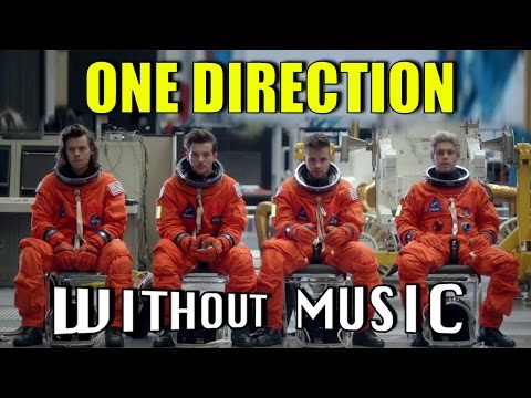 ONE DIRECTION - Drag Me Down (#WITHOUTMUSIC parody)