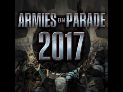 VIDEO: Armies on Parade 2017 - Warhammer 40k in Warsaw, Poland