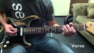 Not Ashamed - Guitar 1 - Tutorial