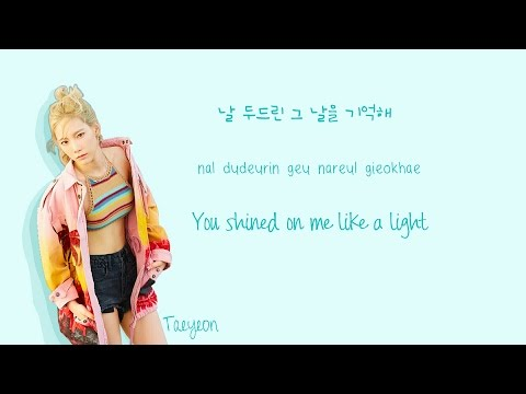 Free Download Taeyeon - Starlight Lyrics (feat. Dean) Color Coded Han|rom|eng Mp3 dan Mp4