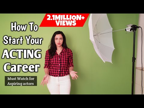 How to become an ACTOR | Chat with Casting Directors | Sample Auditions Included