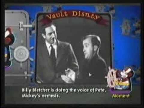 Walt Disney voice of Mickey Mouse