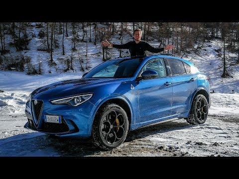 Alfa Romeo Stelvio Quadrifoglio - Is it Fun in the Snow? [Sub ENG]