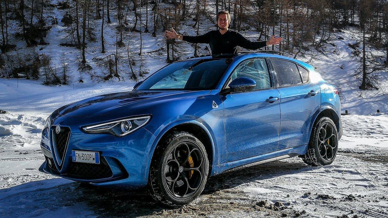 Alfa Romeo Stelvio Quadrifoglio Is It Fun In The Snow Sub Eng