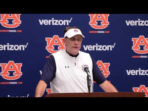 Gus Malzahn Postgame Interview | Auburn vs. Arkansas St. 2016