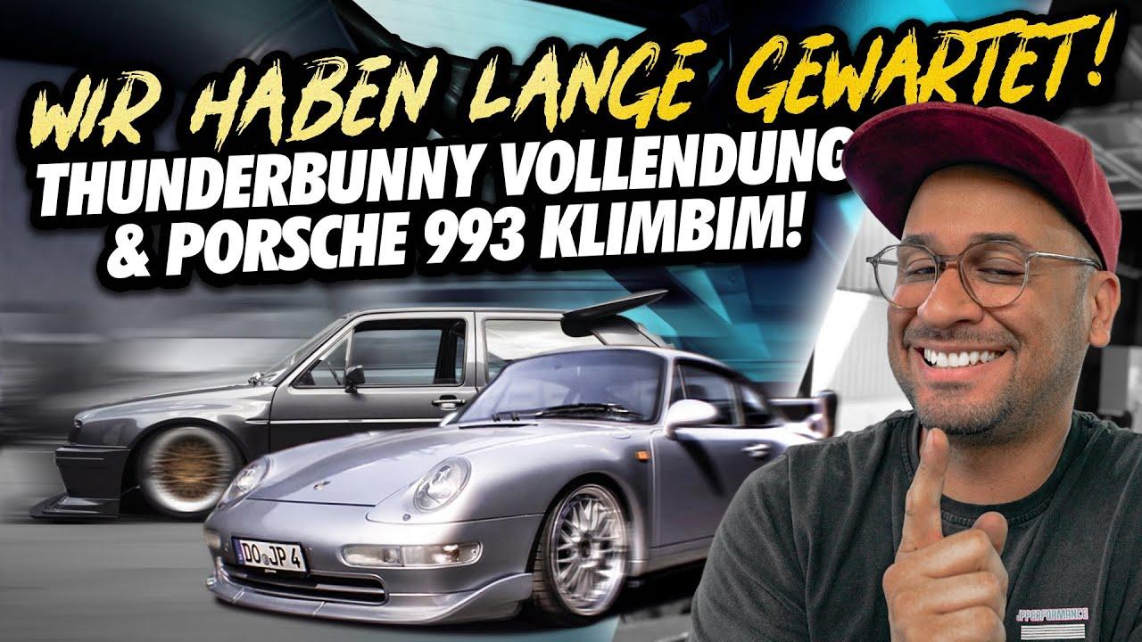 JP Performance - WIR HABEN LANGE GEWARTET! | Thunderbunny Vollendung und Porsche 993 X51 Klimbim
