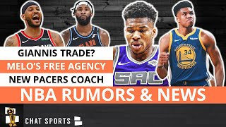 NBA Rumors: Giannis Trade To Warriors? Andre Drummond Trade Rumors & Carmelo Anthony Free Agency