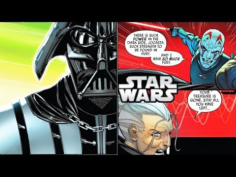 Darth Vader SAVES Jocasta Nu from DEATH CANON  Star Wars Explained COMIC