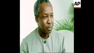 President of Tanzania: Julius Nyerere