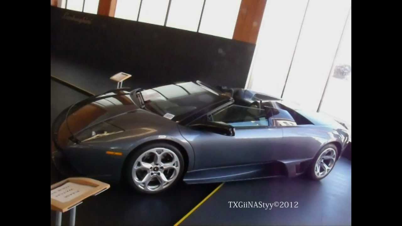 Hd 6 Speed Manual Lamborghini Murcielago Lp640 Roadster In Detail
