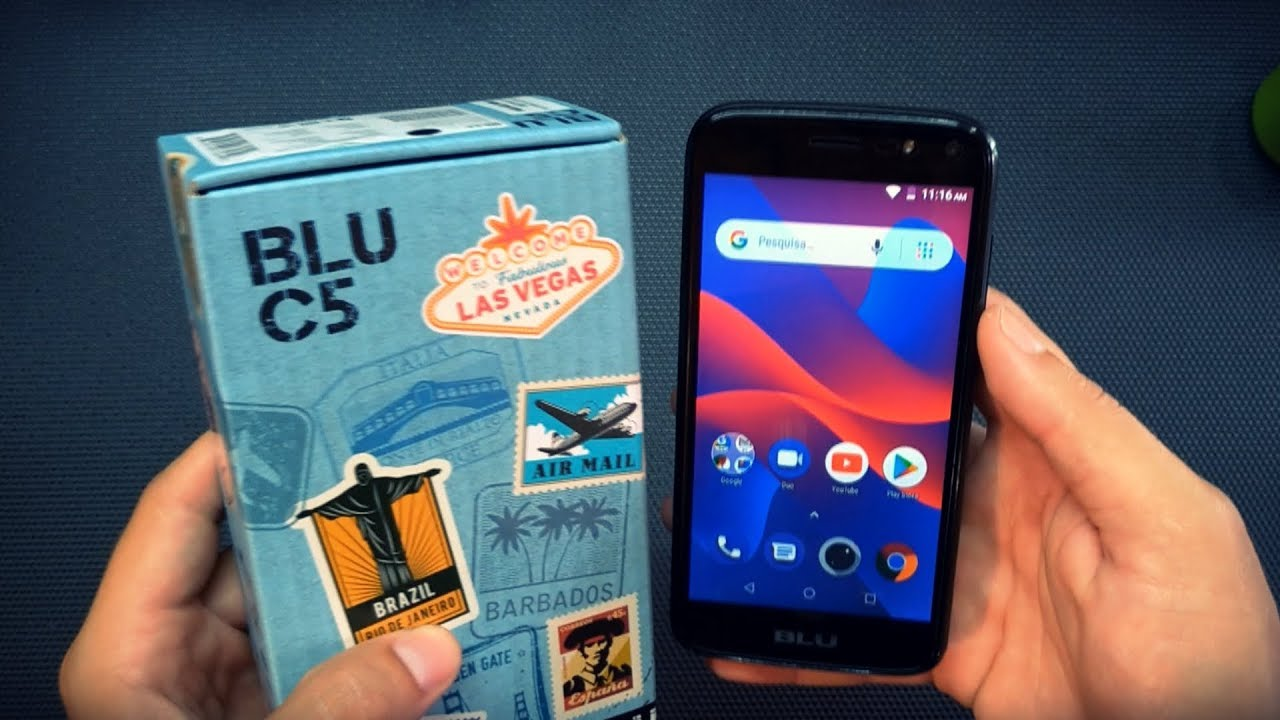 Blu C5 2018 Analise Review Tecnoob Youtube