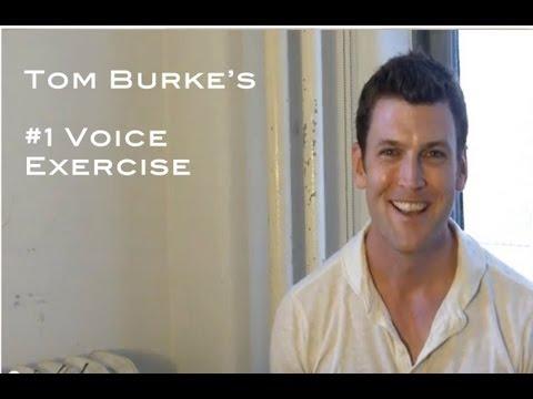 """Tom Burke's #1 Vocal Exercise"""