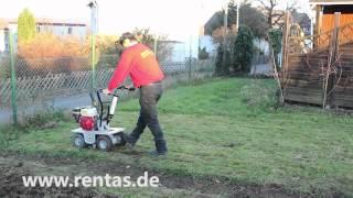 Rasenschälmaschine mieten bei Rentas, Kurzbeschreibung