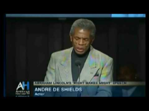Lincoln Cooper Union Speech (6) - De Shields