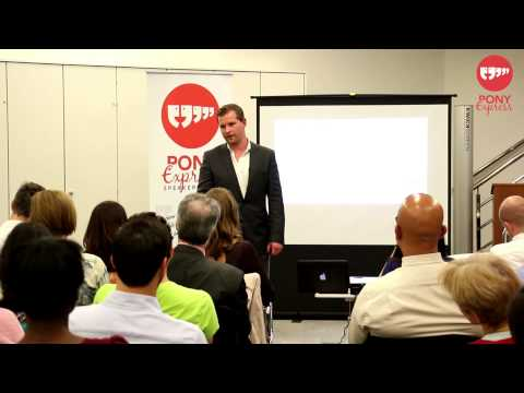 PONY Express Speakers Club - Speaking & Selling from Stage  with Jonathan Pfahl at Rockstar Group