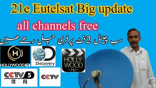 Gambar cover 21e Eutelsat 21A Big update 04-01-2020 || all good channels free.