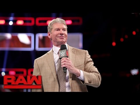 Mr. McMahon promises to shake up Raw and SmackDown LIVE: Raw, April 3, 2017