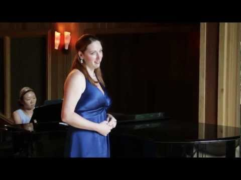 Megan Gillespie sings Waldesgesprach - by Schumann