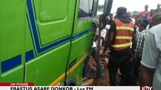 Kumasi Trailer Accident - The Pulse on JoyNews (12-7-18)
