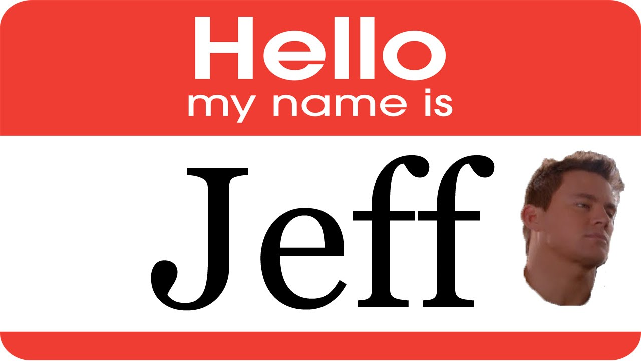 Hello My Name Is: Hello My Name Is Jeff Song