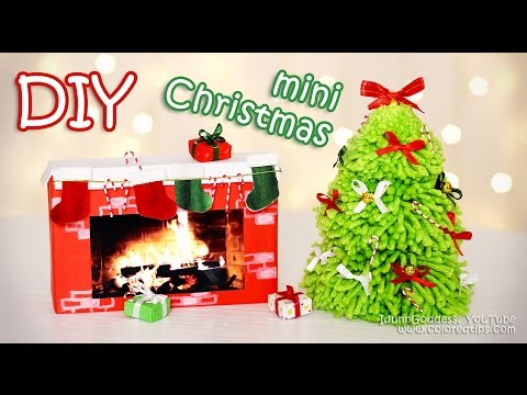 DIY-Mini-Christmas-Decorations-–-Tiny-Holiday-Decor-Ideas