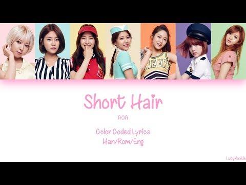 AOA - Short Hair (단발머리) Color Coded Lyrics Han/Rom/Eng