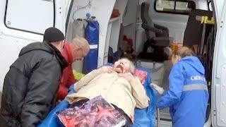 Бабушка попала под грузовик