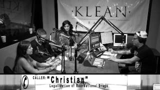 KLEAN Radio discusses Legalization of Recreational Drugs