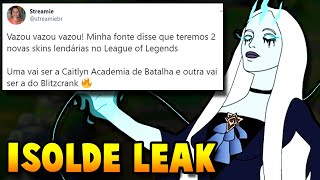 ISOLDE NEW CHAMPION LEAKED!! NEW SKINS VOICE OVER LEAKS - League of Legends